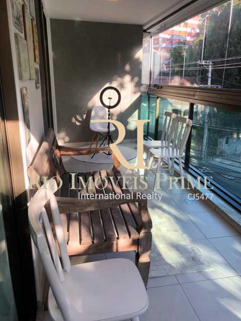 VARANDA. - Apartamento à venda Rua Marquês de São Vicente,Gávea, Rio de Janeiro - R$ 1.995.000 - RPAP30113 - 3