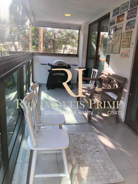 VARANDA. - Apartamento à venda Rua Marquês de São Vicente,Gávea, Rio de Janeiro - R$ 1.995.000 - RPAP30113 - 4