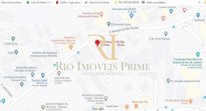 LOCALIZACAO - Apartamento à venda Rua Marquês de São Vicente,Gávea, Rio de Janeiro - R$ 1.995.000 - RPAP30113 - 19