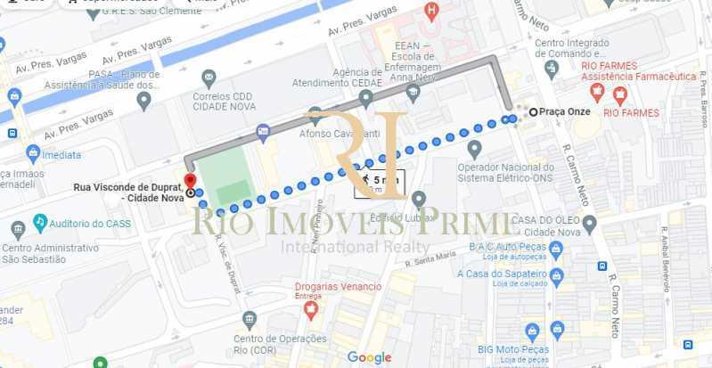 DISTÂNCIA METRÔ - Apartamento à venda Rua Visconde de Duprat,Cidade Nova, Rio de Janeiro - R$ 369.900 - RPAP20187 - 21