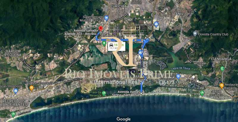DISTÂNCIA PRAIA DA BARRA - Apartamento 2 quartos à venda Barra Olímpica, Rio de Janeiro - R$ 320.000 - RPAP20188 - 28