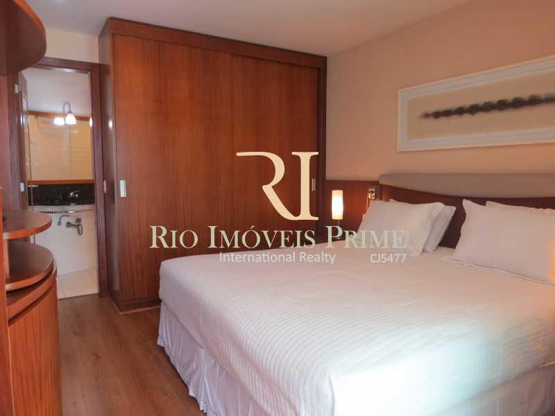 SUÍTE - Flat Condomínio Wyndham Rio Barra, Avenida Lúcio Costa,Barra da Tijuca, Rio de Janeiro, RJ À Venda, 1 Quarto, 52m² - RPFL10009 - 5
