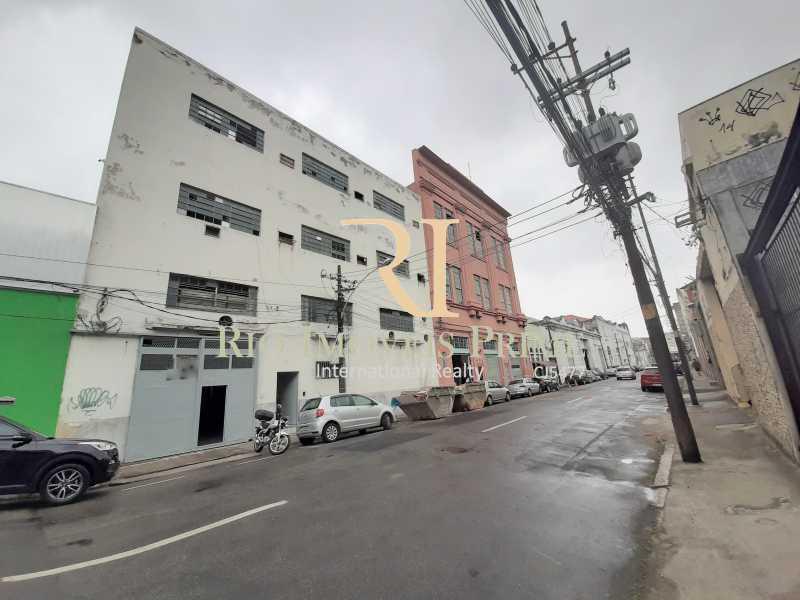 FACHADA - RUA - Prédio 800m² para alugar Rua Pedro Alves,Santo Cristo, Rio de Janeiro - R$ 7.000 - RPPR00004 - 1