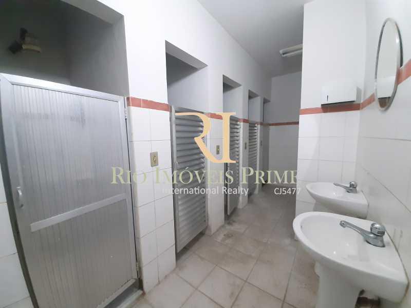 BANHEIROS MASCULINOS - Prédio 800m² para alugar Rua Pedro Alves,Santo Cristo, Rio de Janeiro - R$ 7.000 - RPPR00004 - 9