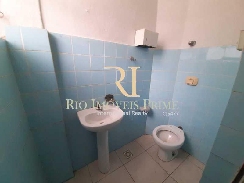 BANHEIRO SALA PAV3 - Prédio 800m² para alugar Rua Pedro Alves,Santo Cristo, Rio de Janeiro - R$ 7.000 - RPPR00004 - 25