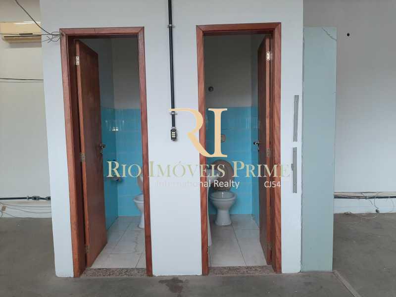 BANHEIROS PAV3 - Prédio 800m² para alugar Rua Pedro Alves,Santo Cristo, Rio de Janeiro - R$ 7.000 - RPPR00004 - 26