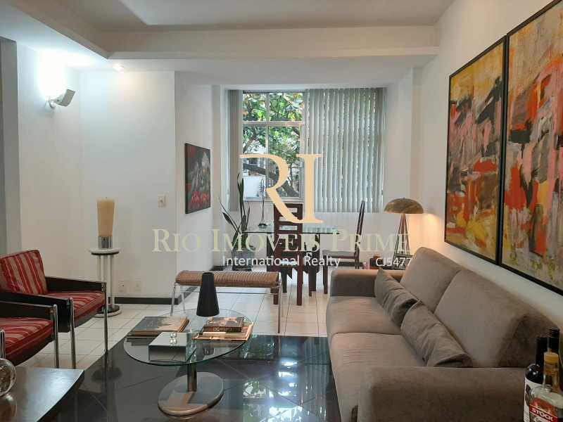 SALAS - Apartamento à venda Avenida Rainha Elizabeth da Bélgica,Ipanema, Rio de Janeiro - R$ 1.299.990 - RPAP30116 - 1