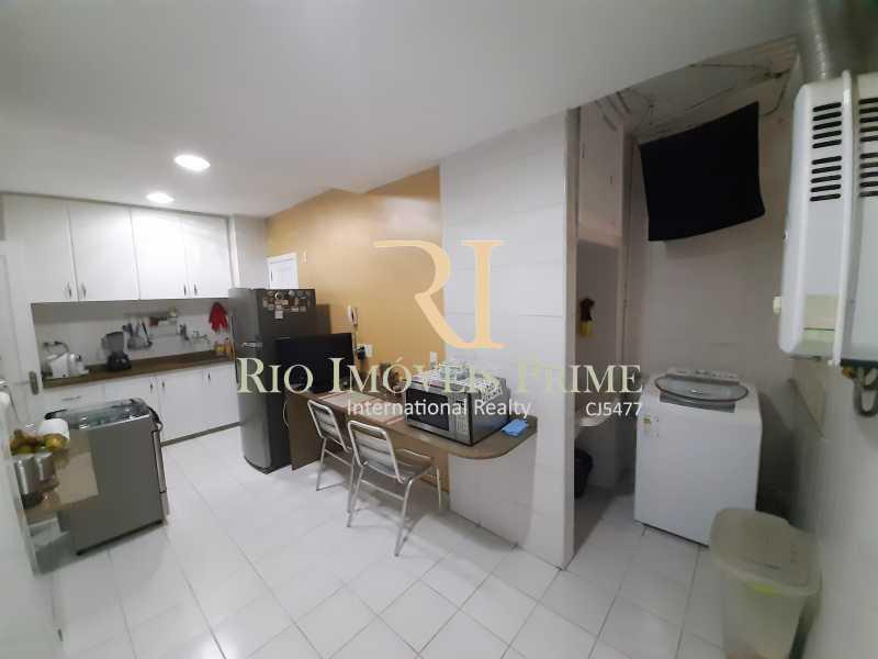 COZINHA-ÁREA SERVIÇO - Apartamento à venda Avenida Rainha Elizabeth da Bélgica,Ipanema, Rio de Janeiro - R$ 1.299.990 - RPAP30116 - 19
