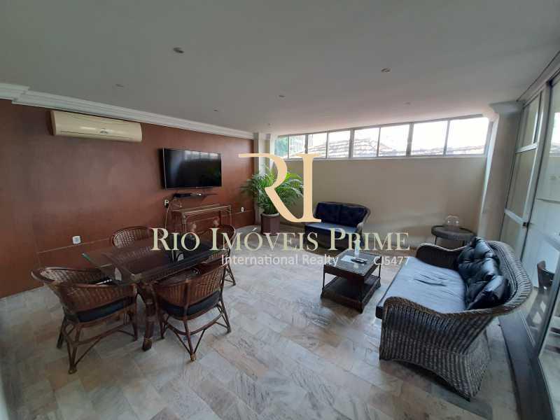 SALA TV - Flat 1 quarto à venda Botafogo, Rio de Janeiro - R$ 740.000 - RPFL10099 - 22