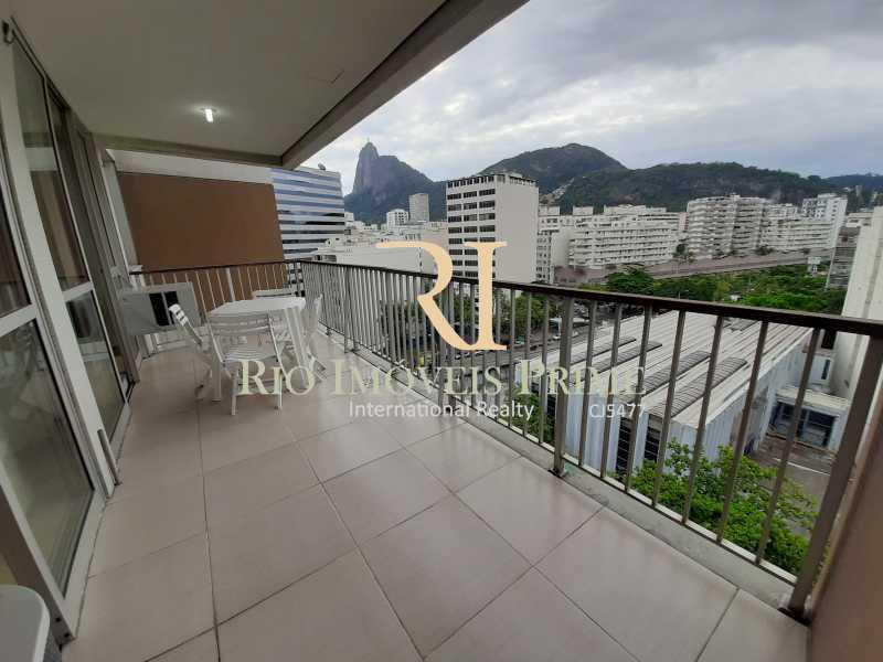 VARANDA - Flat 1 quarto à venda Botafogo, Rio de Janeiro - R$ 740.000 - RPFL10099 - 3