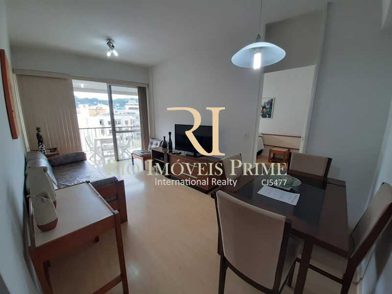 SALA - Flat 1 quarto à venda Botafogo, Rio de Janeiro - R$ 740.000 - RPFL10099 - 5