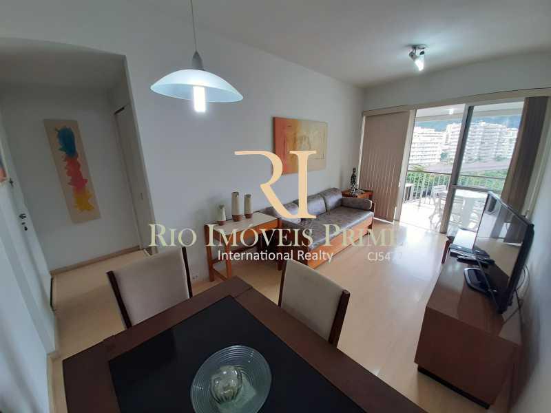 SALA - Flat 1 quarto à venda Botafogo, Rio de Janeiro - R$ 740.000 - RPFL10099 - 7