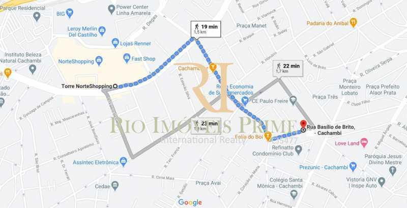 DIST NORTE SHOPPING - Apartamento à venda Rua Basílio de Brito,Cachambi, Rio de Janeiro - R$ 279.900 - RPAP20203 - 18