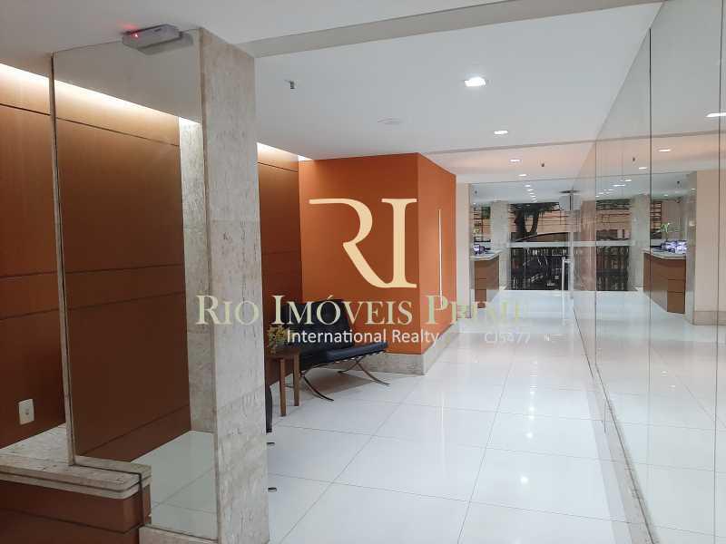 RECEPÇÃO - Flat 1 quarto à venda Botafogo, Rio de Janeiro - R$ 690.000 - RPFL10100 - 25