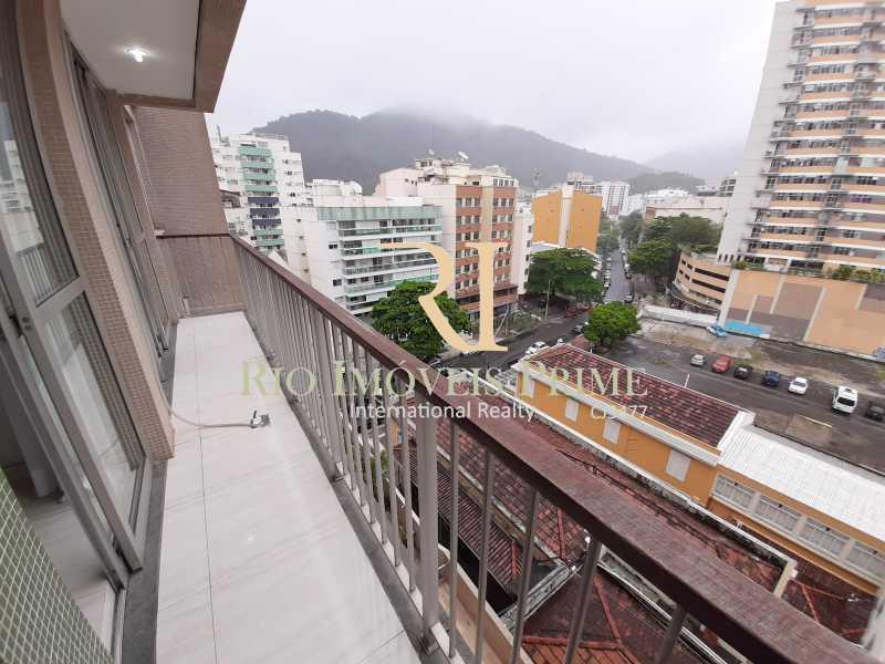 VARANDA - Flat 1 quarto à venda Botafogo, Rio de Janeiro - R$ 690.000 - RPFL10100 - 3