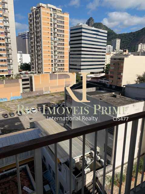 VARANDA. - Flat 1 quarto à venda Botafogo, Rio de Janeiro - R$ 690.000 - RPFL10100 - 4
