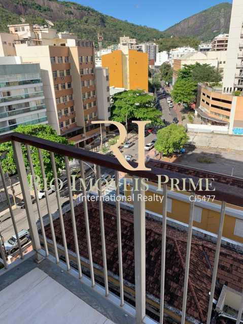 VARANDA. - Flat 1 quarto à venda Botafogo, Rio de Janeiro - R$ 690.000 - RPFL10100 - 5