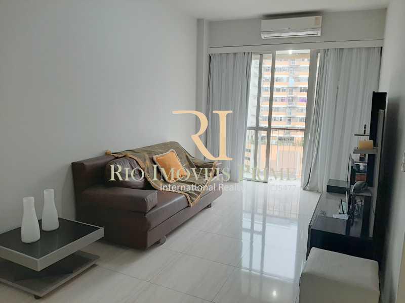 SALA ESTAR - Flat 1 quarto à venda Botafogo, Rio de Janeiro - R$ 690.000 - RPFL10100 - 6