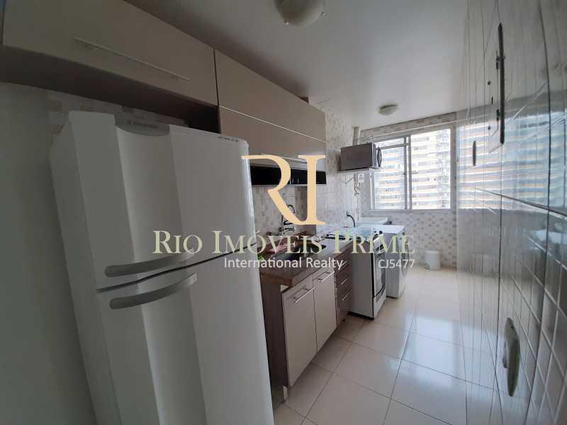 COZINHA - Flat 1 quarto à venda Botafogo, Rio de Janeiro - R$ 690.000 - RPFL10100 - 14