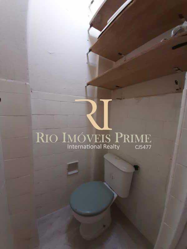 BANHEIRO SERVIÇO - Apartamento 3 quartos à venda Tijuca, Rio de Janeiro - R$ 539.990 - RPAP30128 - 19