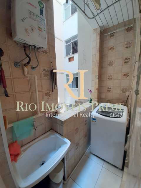 ÁREA SERVIÇO - Apartamento à venda Rua São Salvador,Flamengo, Rio de Janeiro - R$ 599.990 - RPAP20205 - 17