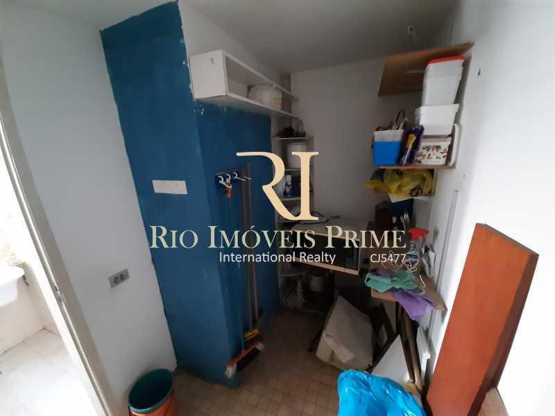 QUARTO SERVIÇO - Apartamento à venda Rua Paulino Fernandes,Botafogo, Rio de Janeiro - R$ 849.900 - RPAP20206 - 16