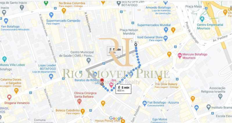 DISTANCIA METRO - Apartamento à venda Rua Paulino Fernandes,Botafogo, Rio de Janeiro - R$ 849.900 - RPAP20206 - 21
