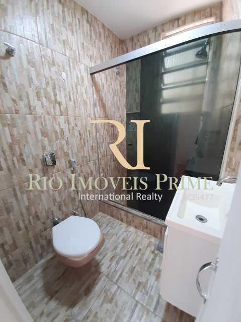 BANHEIRO SOCIAL - Apartamento à venda Rua Ribeiro Guimarães,Tijuca, Rio de Janeiro - R$ 459.900 - RPAP20207 - 9