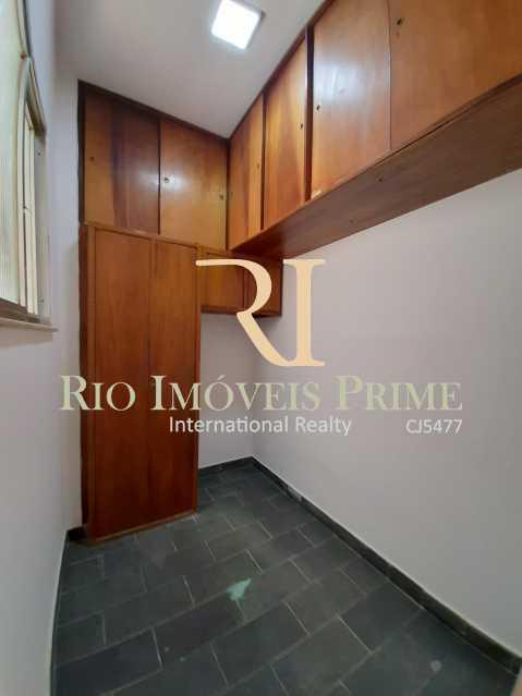 QUARTO SERVIÇO - Apartamento à venda Rua Ribeiro Guimarães,Tijuca, Rio de Janeiro - R$ 459.900 - RPAP20207 - 13