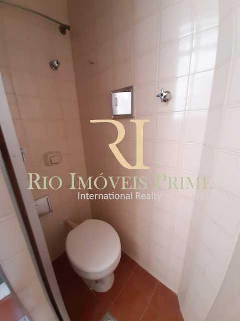 BANHEIRO SERVIÇO - Apartamento à venda Rua Ribeiro Guimarães,Tijuca, Rio de Janeiro - R$ 459.900 - RPAP20207 - 14