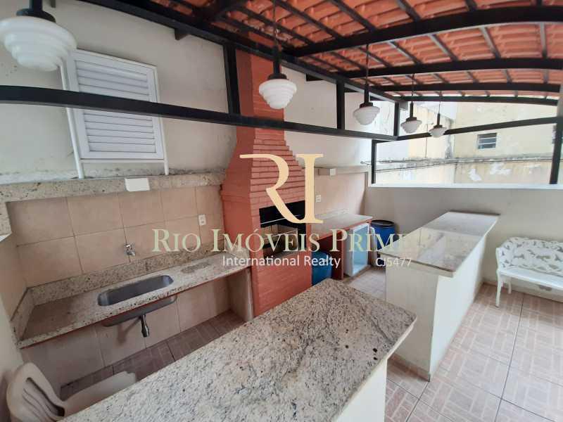CHURRASQUEIRA - Apartamento à venda Rua Ribeiro Guimarães,Tijuca, Rio de Janeiro - R$ 459.900 - RPAP20207 - 18