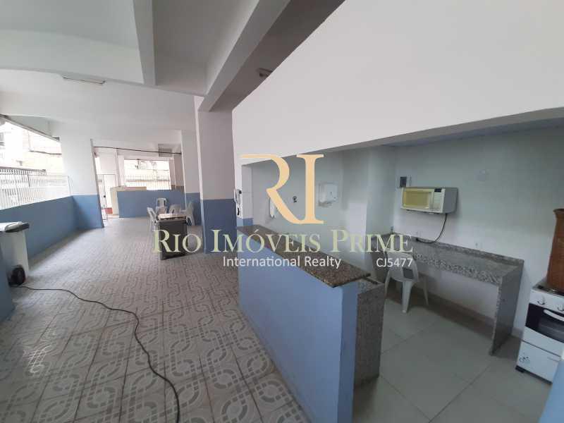 SALÃO DE FESTAS - Apartamento à venda Rua Ribeiro Guimarães,Tijuca, Rio de Janeiro - R$ 459.900 - RPAP20207 - 22