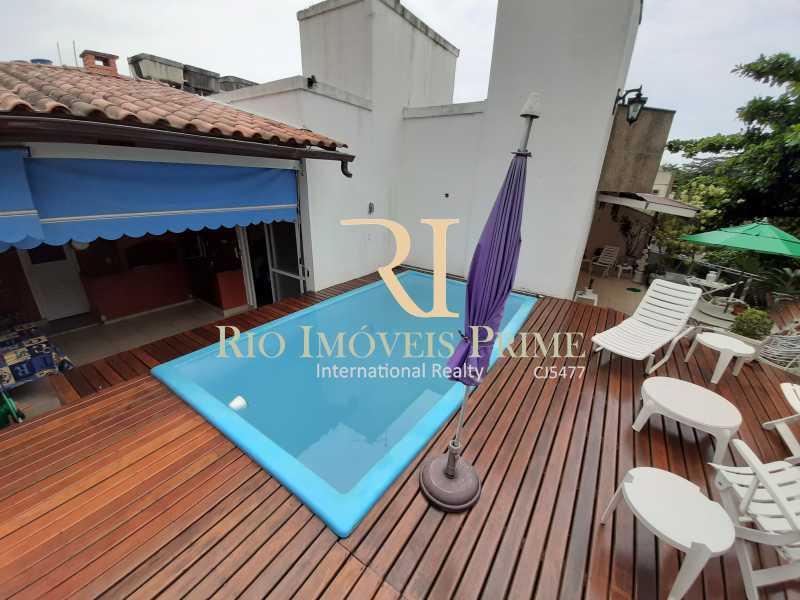 PISCINA - Cobertura 4 quartos à venda Barra da Tijuca, Rio de Janeiro - R$ 2.990.000 - RPCO40014 - 3