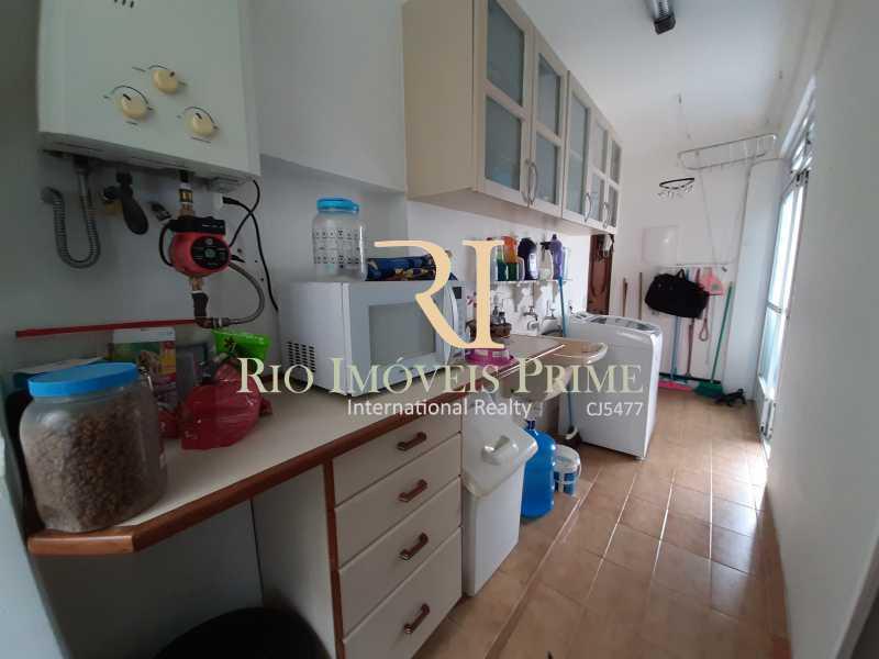 ÁREA SERVIÇO - Cobertura 4 quartos à venda Barra da Tijuca, Rio de Janeiro - R$ 2.990.000 - RPCO40014 - 23