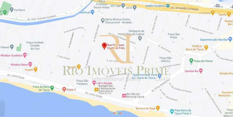 LOCALIZAÇÃO - Cobertura 4 quartos à venda Barra da Tijuca, Rio de Janeiro - R$ 2.990.000 - RPCO40014 - 31