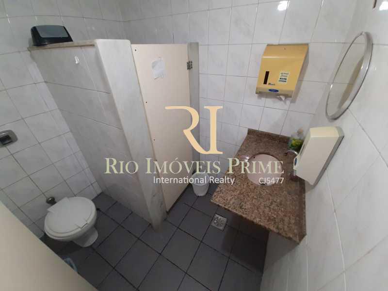 WC FEMININO - Ponto comercial 120m² à venda Rua José Higino,Tijuca, Rio de Janeiro - R$ 150.000 - RPPC00001 - 13