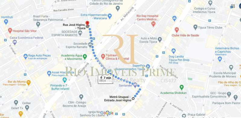 DISTANCIA METRO - Ponto comercial 120m² à venda Rua José Higino,Tijuca, Rio de Janeiro - R$ 150.000 - RPPC00001 - 18