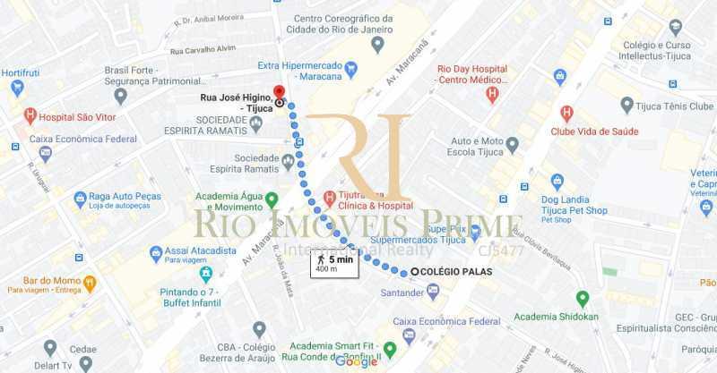 DIST COLÉGIO PALAS - Ponto comercial 120m² à venda Rua José Higino,Tijuca, Rio de Janeiro - R$ 150.000 - RPPC00001 - 21