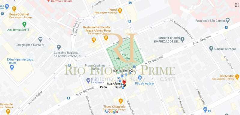 DISTANCIA METRO - Apartamento 3 quartos à venda Tijuca, Rio de Janeiro - R$ 590.000 - RPAP30129 - 21
