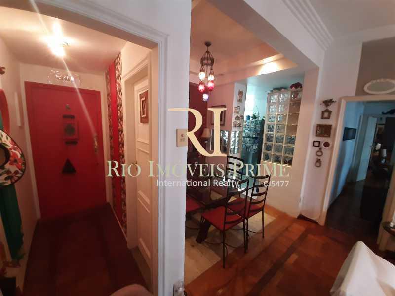 HALL DE ENTRADA - Apartamento à venda Rua João Afonso,Humaitá, Rio de Janeiro - R$ 1.090.000 - RPAP20210 - 3