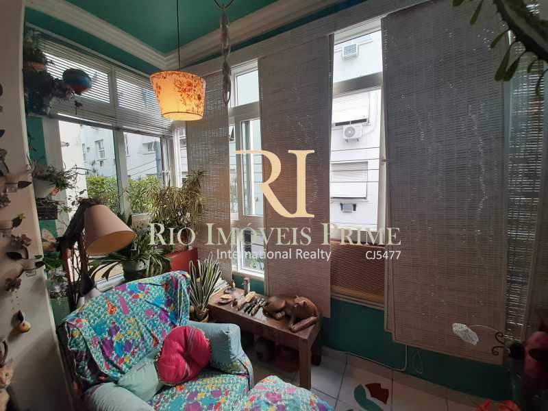 VARANDA - Apartamento à venda Rua João Afonso,Humaitá, Rio de Janeiro - R$ 1.090.000 - RPAP20210 - 5