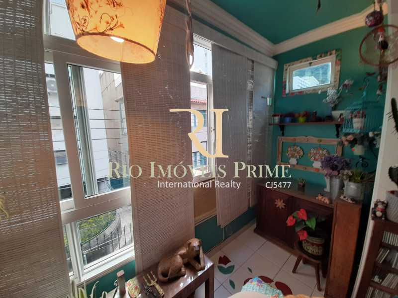 VARANDA - Apartamento à venda Rua João Afonso,Humaitá, Rio de Janeiro - R$ 1.090.000 - RPAP20210 - 6