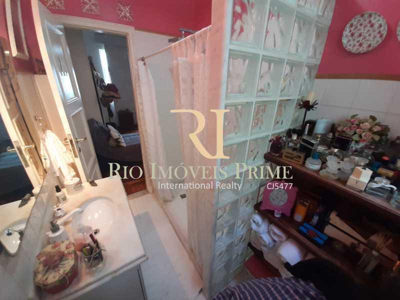 BANHEIRO SOCIAL - Apartamento à venda Rua João Afonso,Humaitá, Rio de Janeiro - R$ 1.090.000 - RPAP20210 - 16