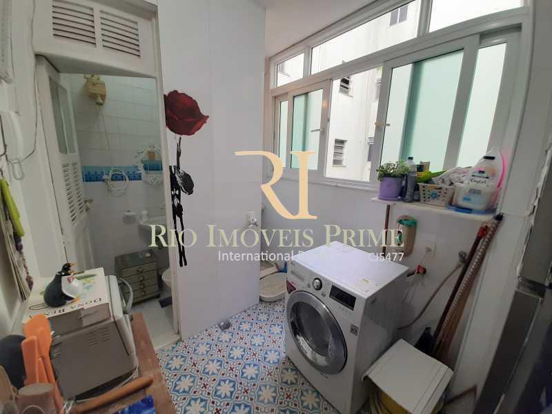 ÁREA SERVIÇO - Apartamento à venda Rua João Afonso,Humaitá, Rio de Janeiro - R$ 1.090.000 - RPAP20210 - 20