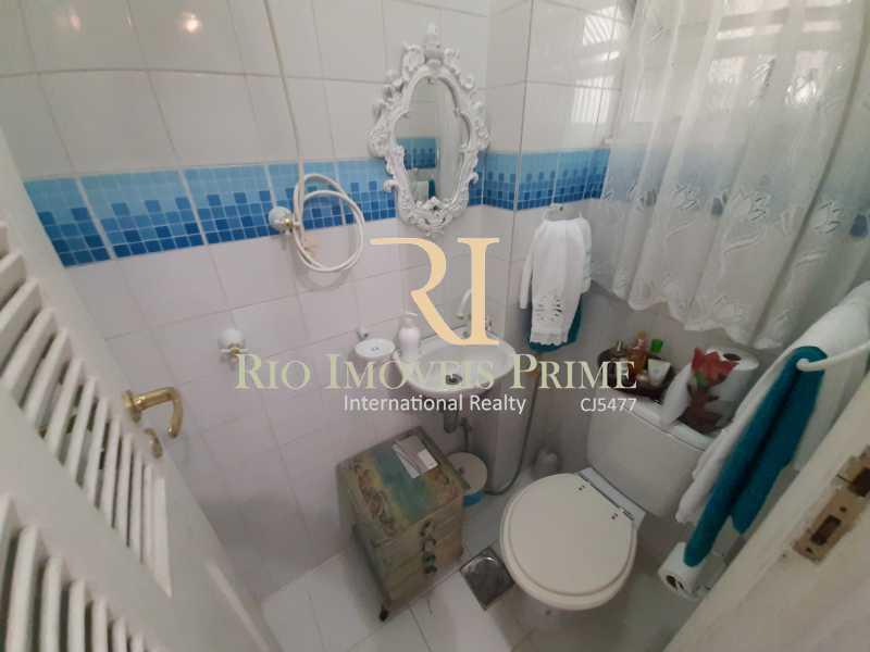 BANHEIRO SERVIÇO - Apartamento à venda Rua João Afonso,Humaitá, Rio de Janeiro - R$ 1.090.000 - RPAP20210 - 21