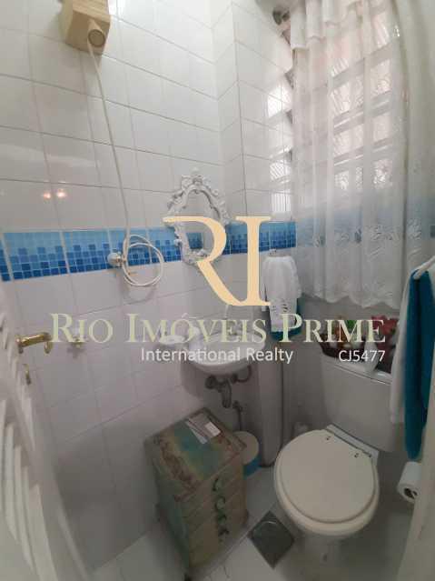 BANHEIRO SERVIÇO - Apartamento à venda Rua João Afonso,Humaitá, Rio de Janeiro - R$ 1.090.000 - RPAP20210 - 22