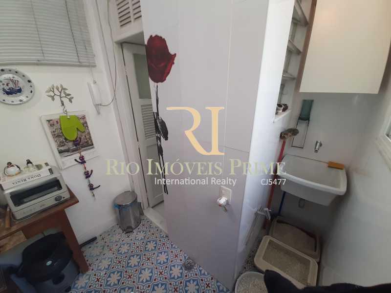 ÁREA SERVIÇO - Apartamento à venda Rua João Afonso,Humaitá, Rio de Janeiro - R$ 1.090.000 - RPAP20210 - 23