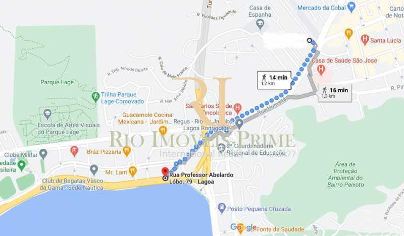 DIST LAGOA RODRIGO DE FREITAS - Apartamento à venda Rua João Afonso,Humaitá, Rio de Janeiro - R$ 1.090.000 - RPAP20210 - 26