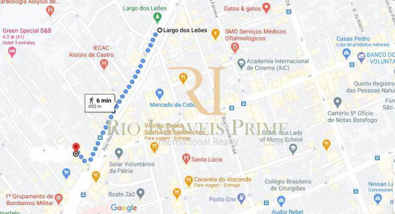 DISTANCIA LARGO DOS LEÕES - Apartamento à venda Rua João Afonso,Humaitá, Rio de Janeiro - R$ 1.090.000 - RPAP20210 - 25