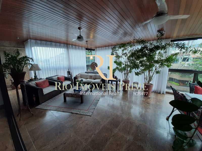 VARANDÃO - Cobertura à venda Avenida General Guedes da Fontoura,Barra da Tijuca, Rio de Janeiro - R$ 4.449.900 - RPCO40015 - 1